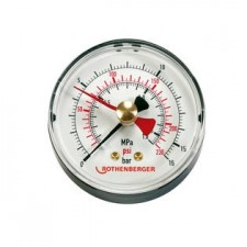 ROTHENBERGER Manometr RP 50-S / RP 50-S INOX