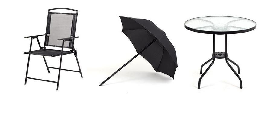 Zestaw Mebli Ogrodowych Siesta Design Milano : SIESTA DESIGN Zestaw mebli ogrodowych stół + 4 krzesła Milano