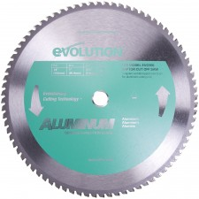 EVOLUTION POWER TOOLS Tarcza spiekana do aluminium 355mm Evo-355-Raptor