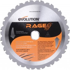 EVOLUTION POWER TOOLS Tarcza wielozadaniowa Rage3 255mm Rage3