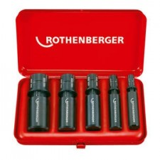 ROTHENBERGER Zestaw NIPPLE MAX 1/2 - 3/4 - 1 - 1.1/4 - 1.1/2""